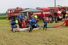 Dětská hasičská soutěž